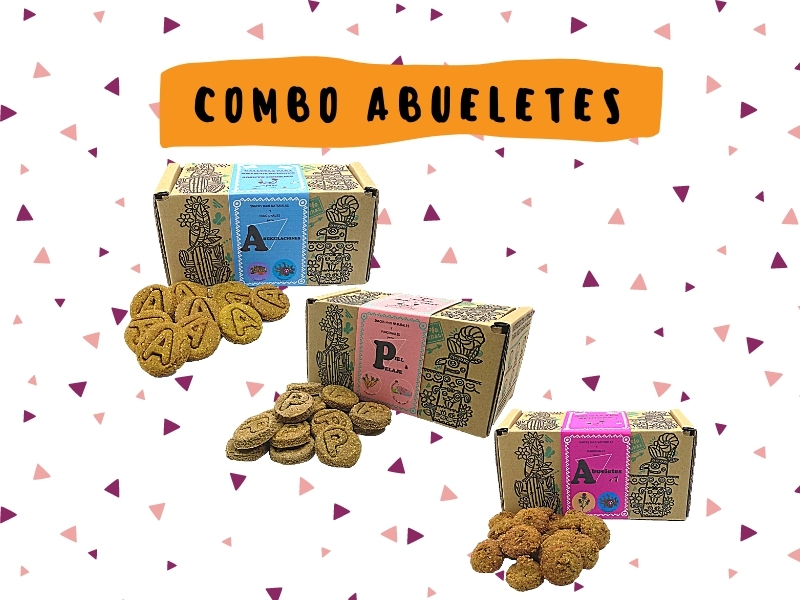 Combo  para perros Abueletes 600g