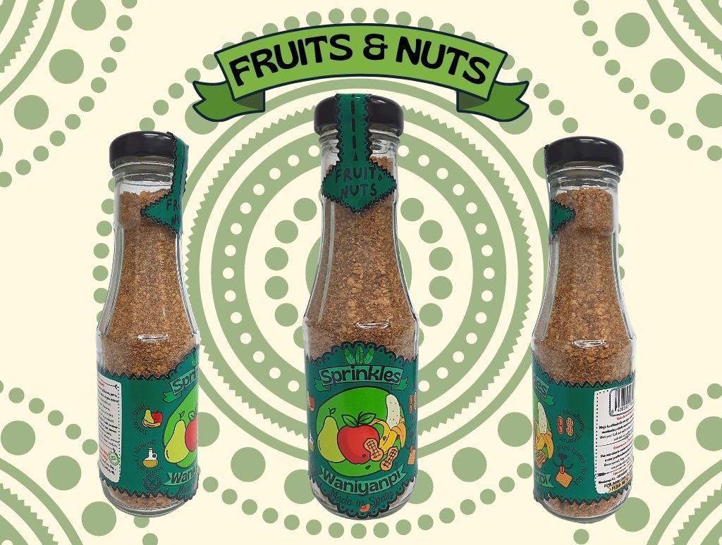 Sprinkles Fruit & Nuts para perros