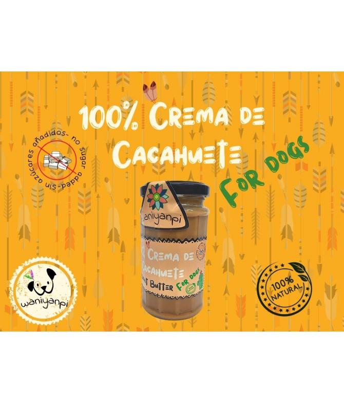 Crema de Cacahuete para perros Waniyanpi