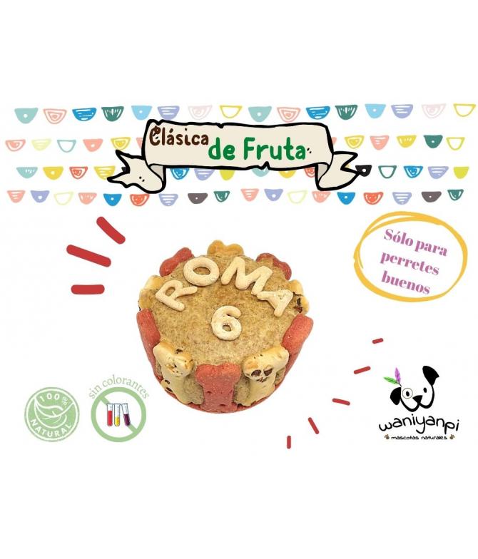 Tarta  de Fruta para Perros